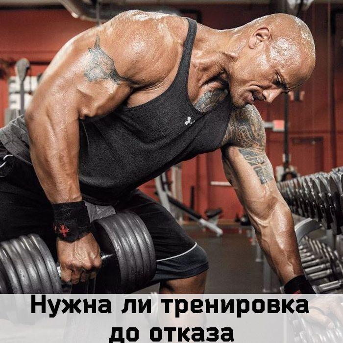 тренировка до отказа